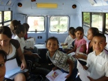 What's not to love about hanging out with your buddies and some books in the Bibliobus?