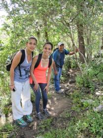 Out on the trails in Miraflor Nature Reserve